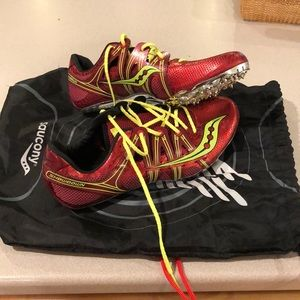 Sprinting Spikes